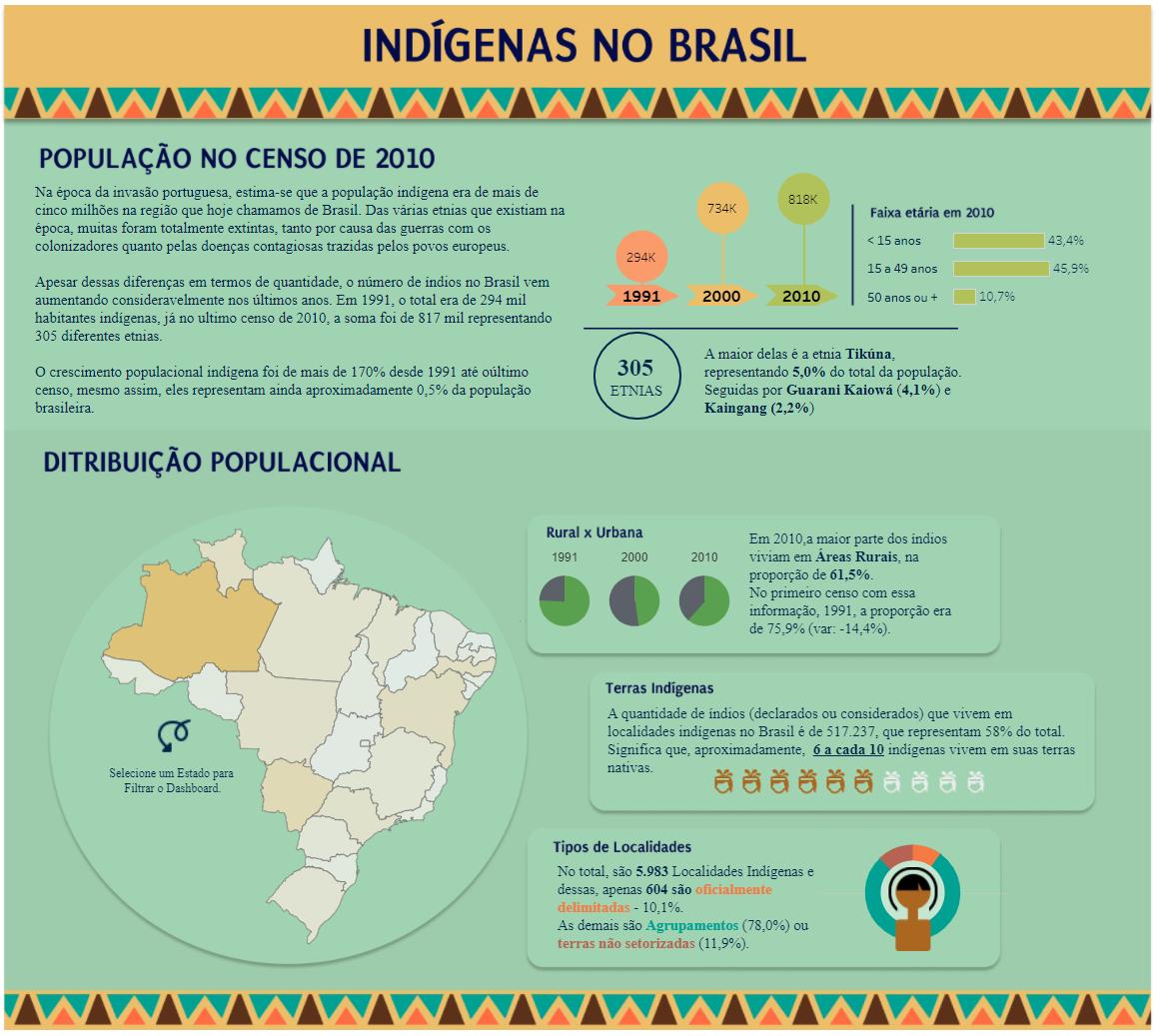 população indígena no brasil